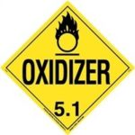 Oxidizer hazards