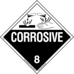 Corosive hazards